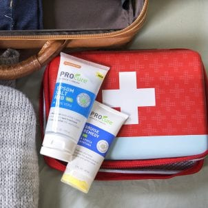 Products and first aid kit
